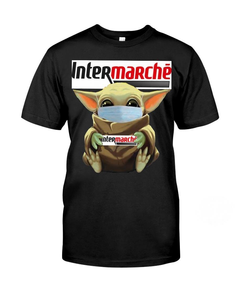 Baby Yoda Hug Intermarché Shirt