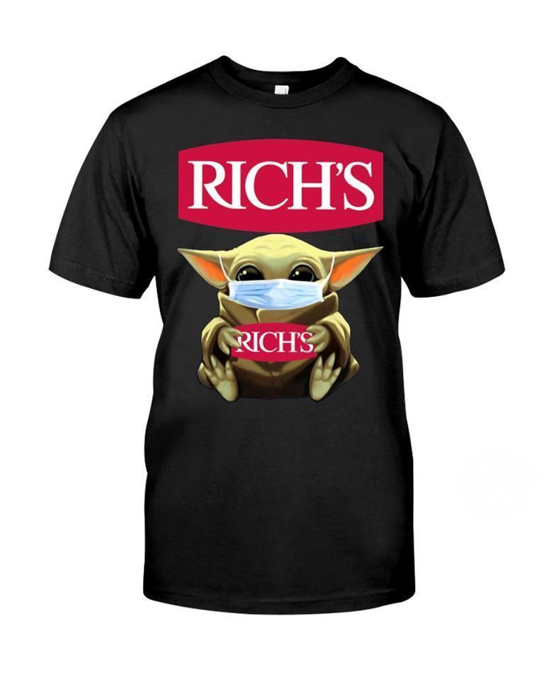 Baby Yoda Hug Rich's Shirt