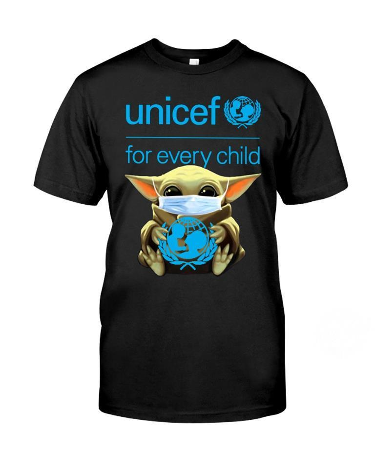 Baby Yoda Hug Unicef for every child shirt