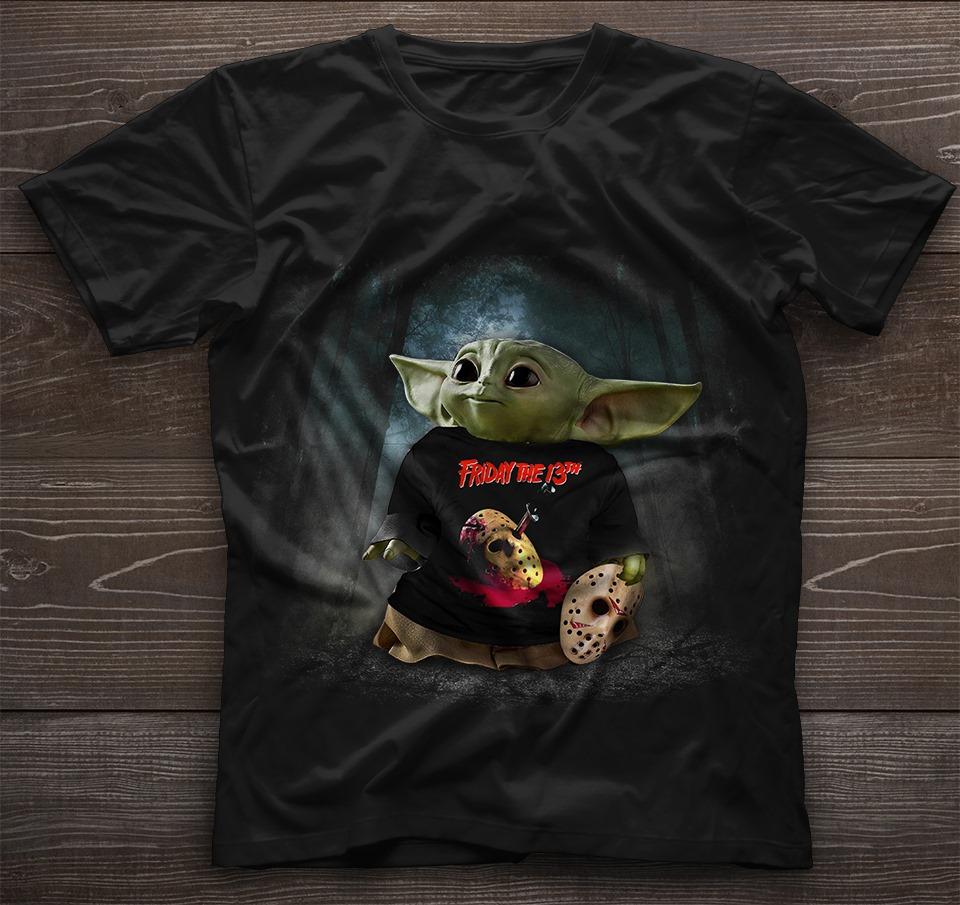 Baby Yoda friday the 13 shirt