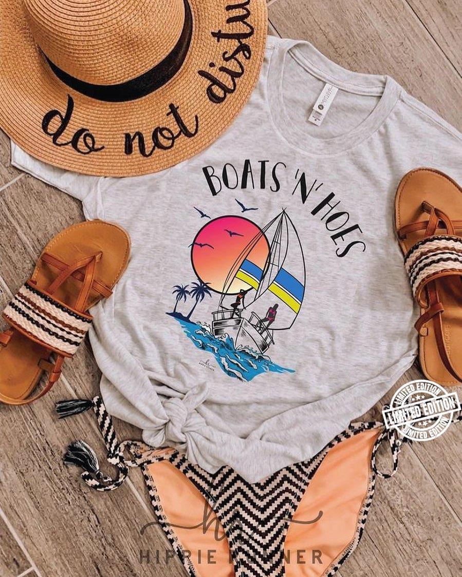 Boats 'n' holes shirt