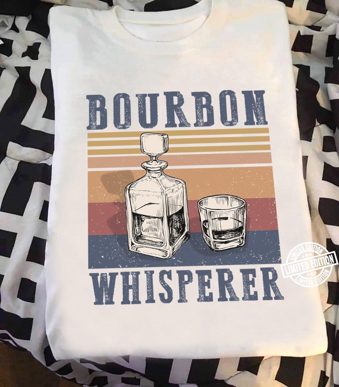 Bourbon whisperer shirt
