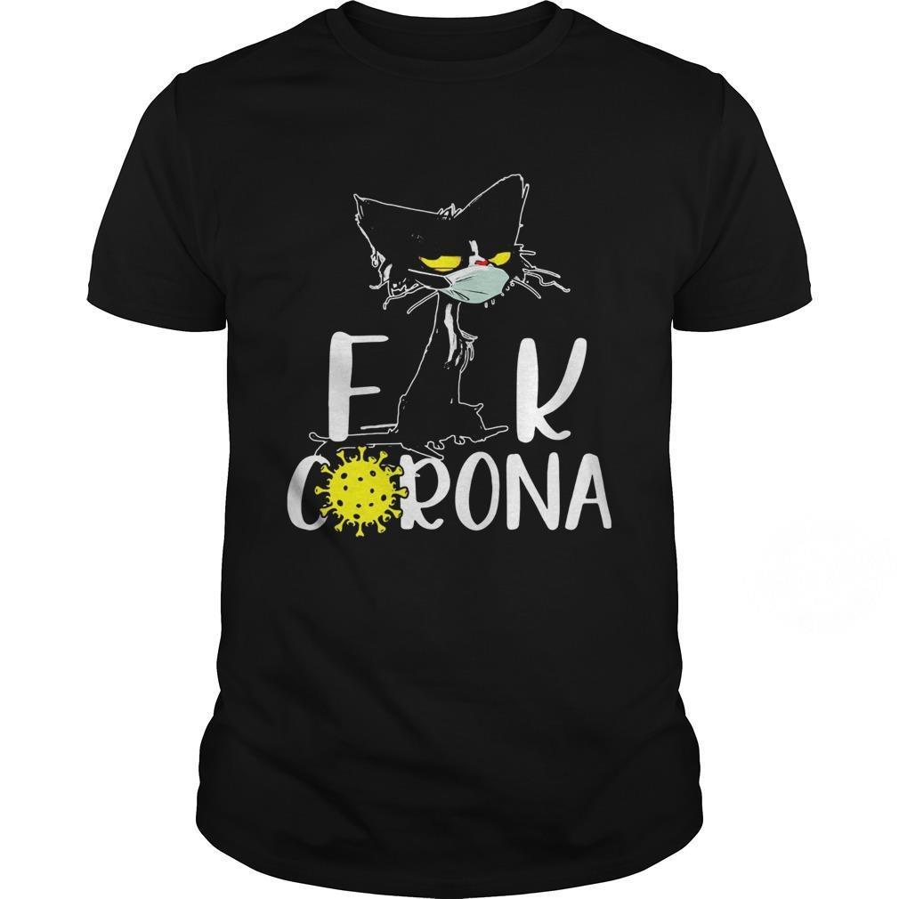 Cat mask fuck Corona shirt