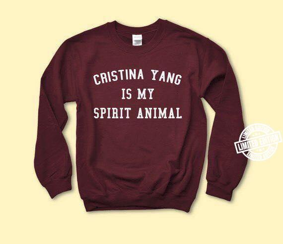 Cristina yang is my spirit animal shirt