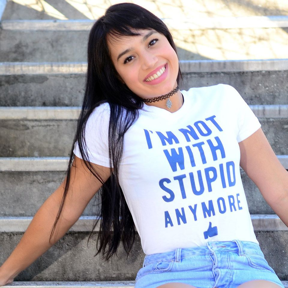 I'm not with stupid anymore shirt